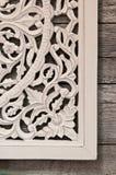 花卉墙壁框架 免版税库存照片