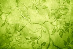 花卉墙纸 免版税库存图片