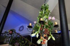 花卉婚礼装饰 免版税库存照片