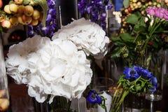花卉婚礼装饰 库存照片