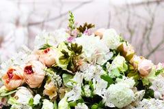 花卉婚礼装饰 图库摄影