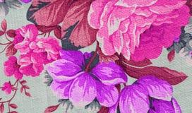 花卉布料背景 图库摄影
