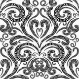 花卉希腊传染媒介无缝的样式 <a href='https://www.dreamstime.com/beauty-of-norway-rcollection5045-resi208938' STYLE='font-size:13px; text-decorat 库存照片