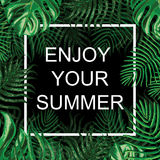 花卉异乎寻常的背景 享受您的夏天 库存照片