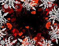 花卉抽象混乱 免版税库存照片