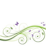 花卉抽象背景 库存照片