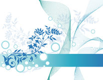 花卉抽象背景 图库摄影