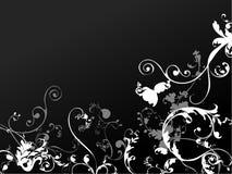 花卉抽象背景 免版税库存照片