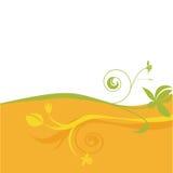 花卉抽象设计 免版税库存照片