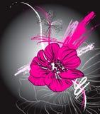 花卉抽象 图库摄影