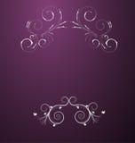花卉抽象beauitful设计 向量例证