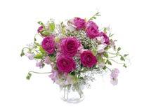 花卉排列 免版税库存照片