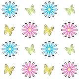 花卉无缝的样式纹理背景 免版税库存照片
