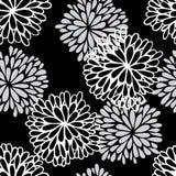 花卉无缝的模式 免版税图库摄影
