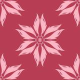 花卉无缝的背景 装饰模式 免版税库存图片