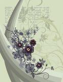 花卉条款背景 库存例证