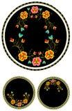 花卉查出的装饰品 库存照片