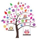 花卉树 免版税库存照片