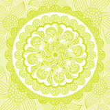 花卉样式背景例证 库存图片