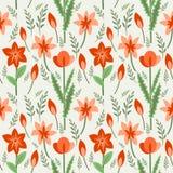 花卉样式 免版税库存图片