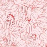 花卉桃红色纹理 库存照片