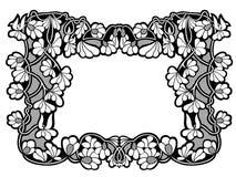 花卉框架构成系列 免版税图库摄影