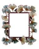 花卉框架照片 免版税图库摄影