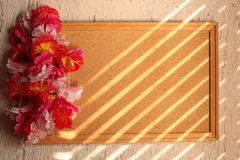 花卉框架 免版税图库摄影