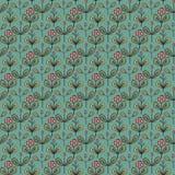 花卉模式向量 图库摄影