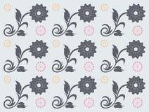 花卉模式无缝的向量 免版税图库摄影