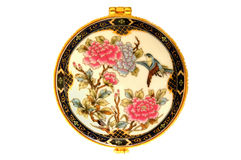 花卉模式瓷 免版税库存照片