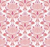 花卉模式维多利亚女王时代的著名人&# 免版税库存图片