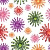 花卉模式 库存照片