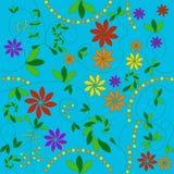 花卉模式 库存图片
