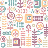 花卉模式 免版税库存图片