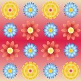 花卉模式 向量例证