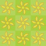 花卉油漆海报向量 库存例证