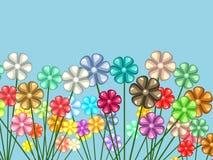 花卉混乱 库存照片