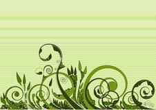 花卉漩涡 免版税图库摄影