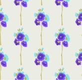 花卉牡丹无缝的样式 库存图片