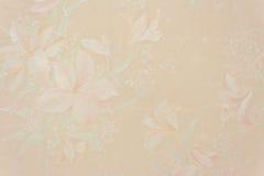 花卉珍珠粉红色葡萄酒墙纸 图库摄影