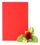 花卉看板卡装饰 免版税库存图片