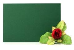 花卉看板卡装饰 库存图片