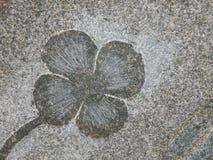 花卉石表面 免版税库存图片