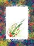花卉纸张 免版税库存照片