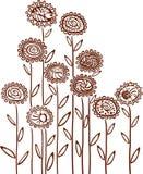 花卉背景。 免版税库存图片