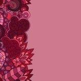 花卉背景设计理想地说使用您的向量 免版税库存图片