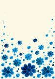 花卉背景设计 免版税图库摄影