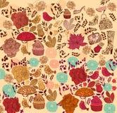 花卉背景 库存照片