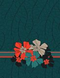 花卉背景 免版税库存图片
